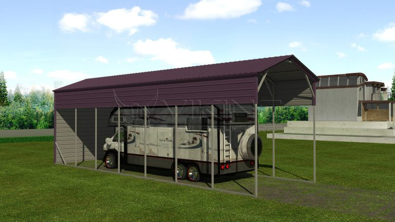 12x41 Metal RV Shelter