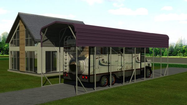 12x41 Steel RV Cover
