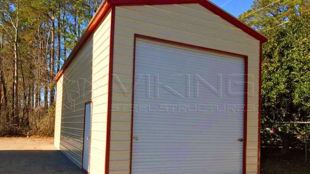 14x40x14 Vertical Roof RV Garage