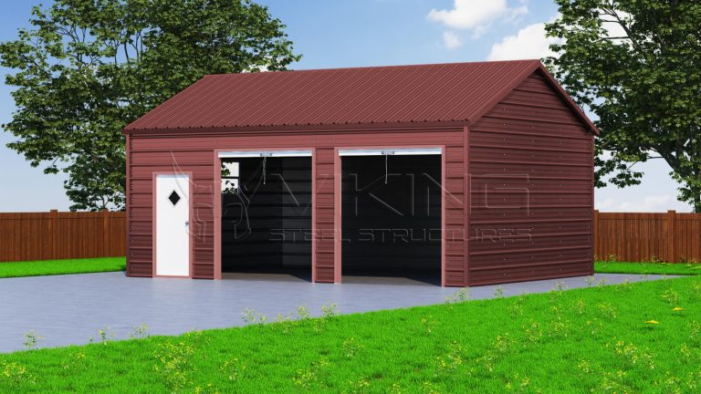 18x26 Side Entry Garage