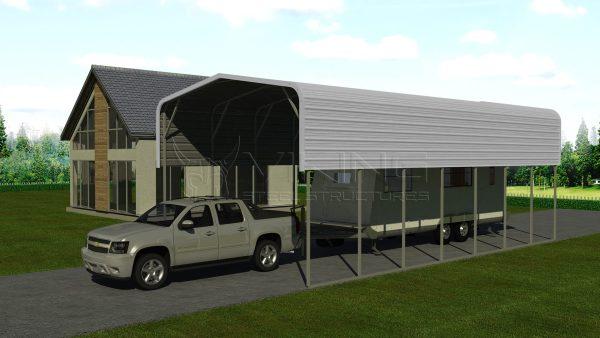 18x36 Metal RV Carport