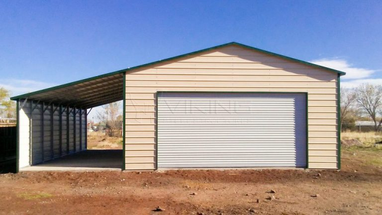 26x31x11 Enclosed Metal Building