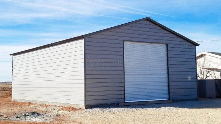 30x41x12 Steel Garage Workshop