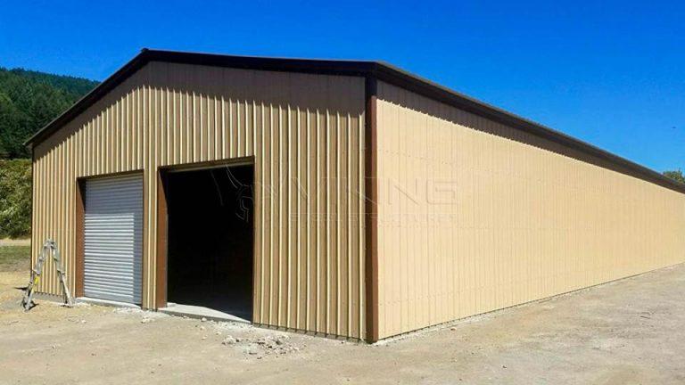 40x101x14 Clear Span Metal Building