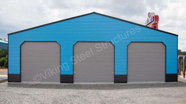 60x24x16 Clear Span Metal Building