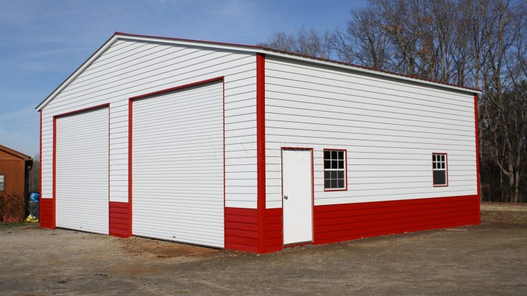 40x32x14 Vertical Roof Commercial Building