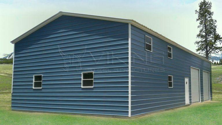 30x41x14 Steel Garage Workshop