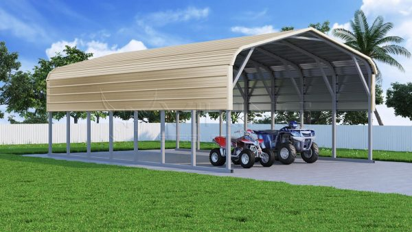 Regular Roof Steel Carports | Metal Carport | Car ports ...