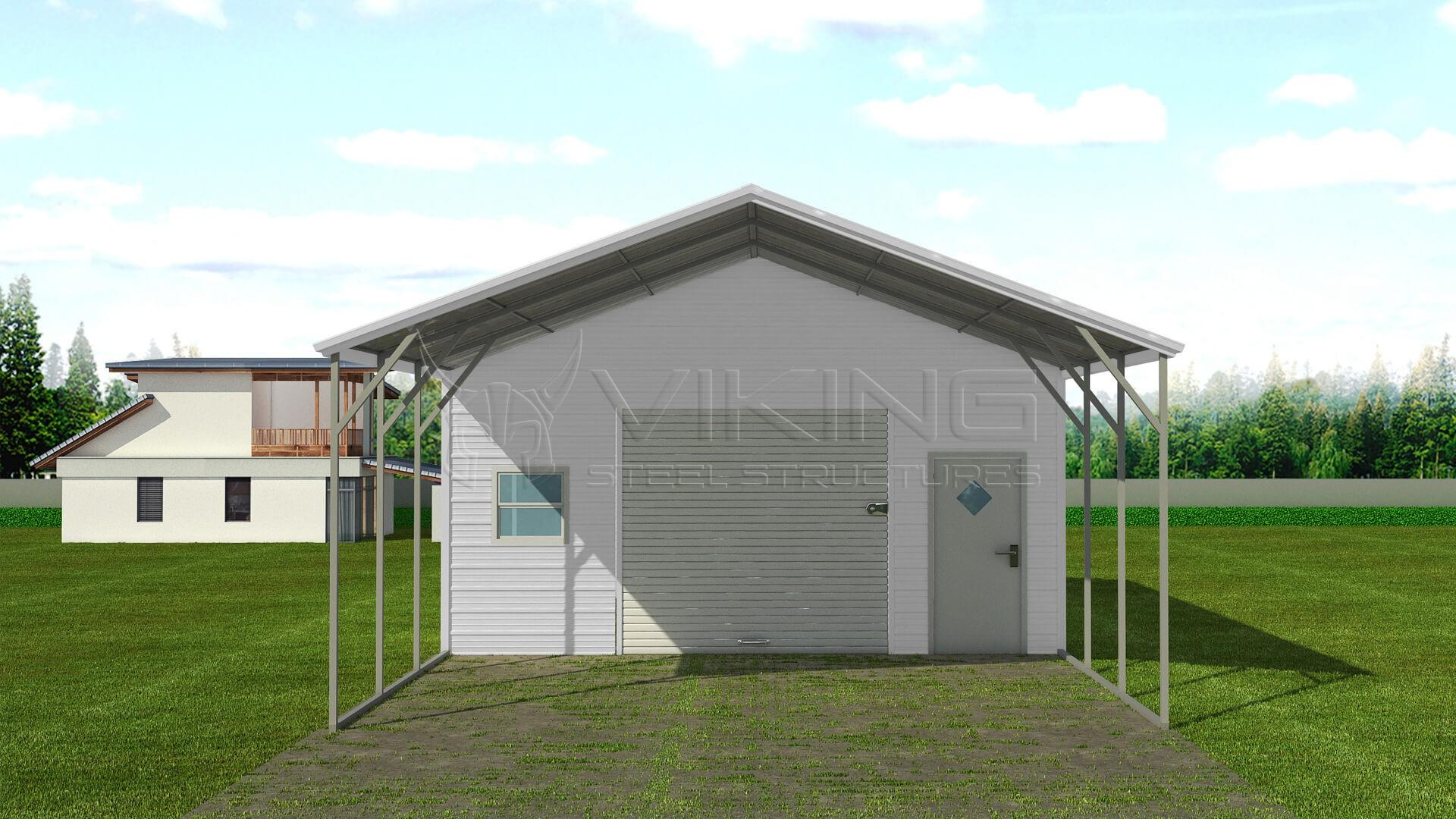 Genial 20x36 Steel Carport With Storage ( Write A Review )