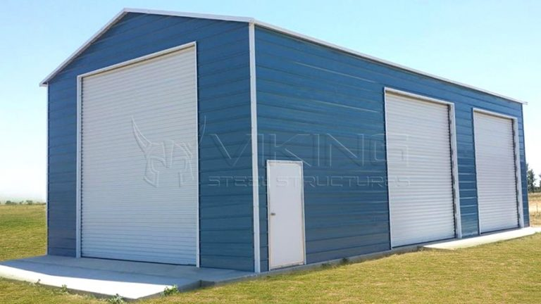 20x36x14 Enclosed Metal RV Garage