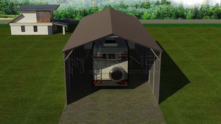 20x51 Steel RV Shelter