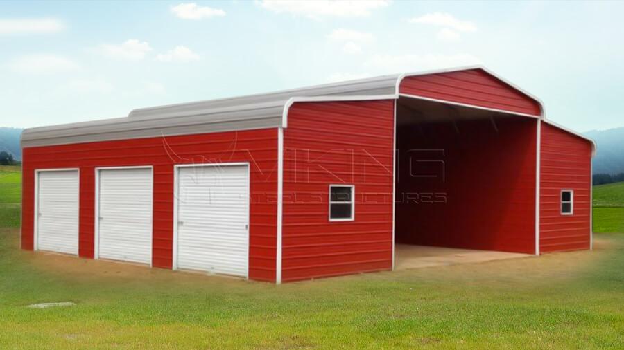 42x36x13 Steel Horse Barn