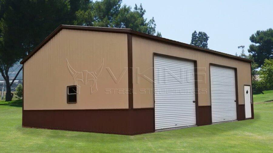 30x35x10 All Vertical Deluxe Garage