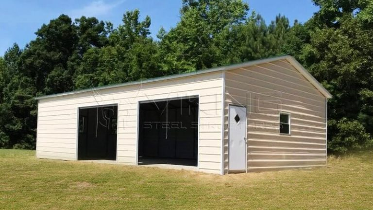 24x35x10 Side Entry Garage