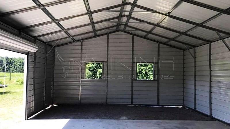 24x35x10 Side Entry Garage