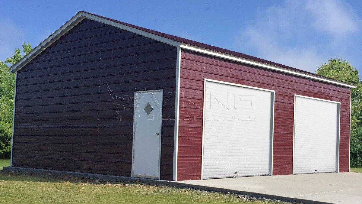 24x25x9-side-entry-steel-garage