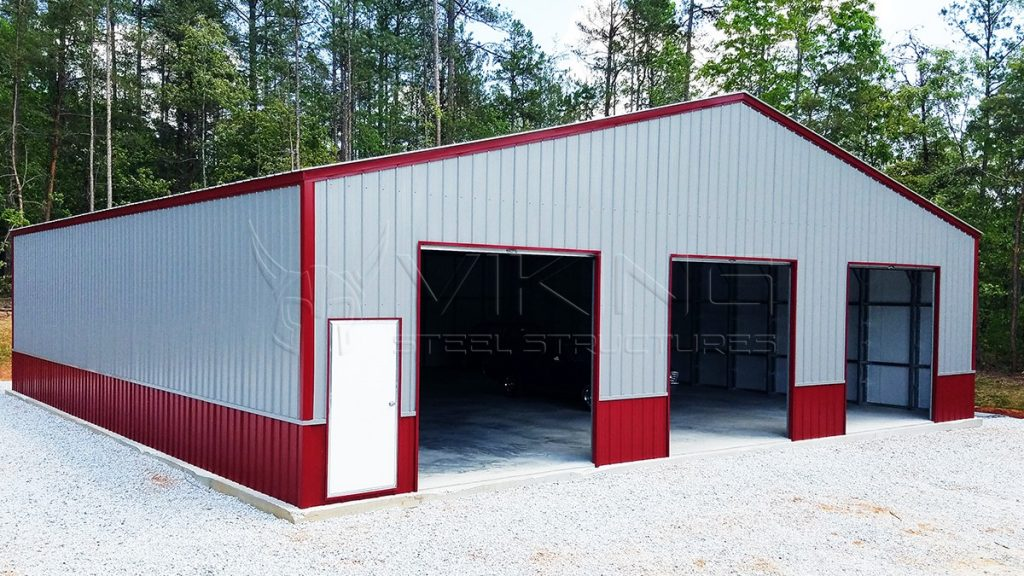 50x48x14 Two Tone Commercial Building