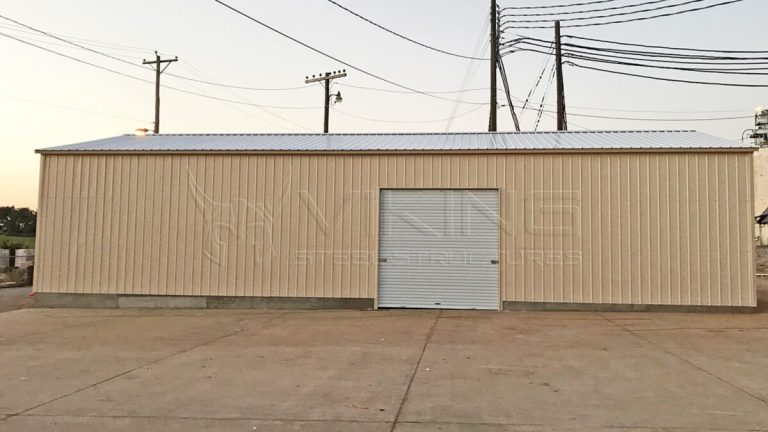 30x40x10 Commercial Garage