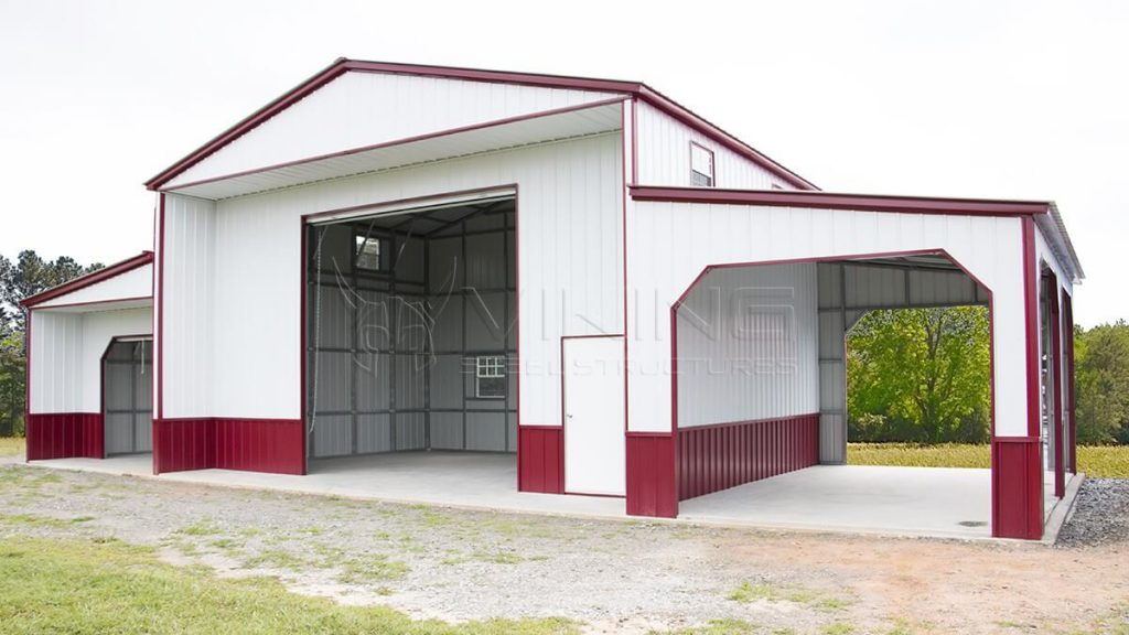 54x24x16 Custom Carolina Barn
