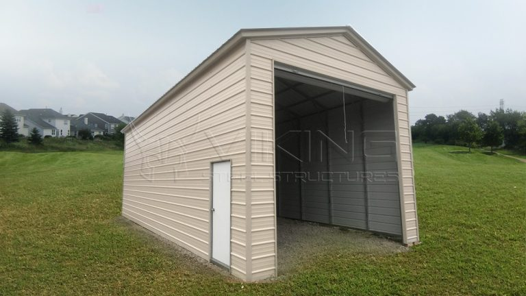 18x40x14 RV Metal Garage