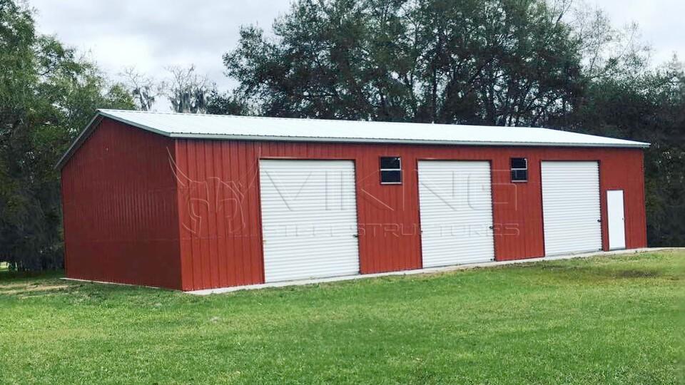 30x50x11 Garage Workshop Building