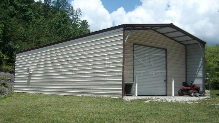 22x51x9 Custom Metal Building
