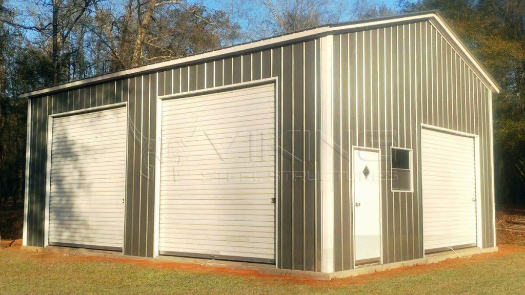 22x30x12 Side Entry Garage