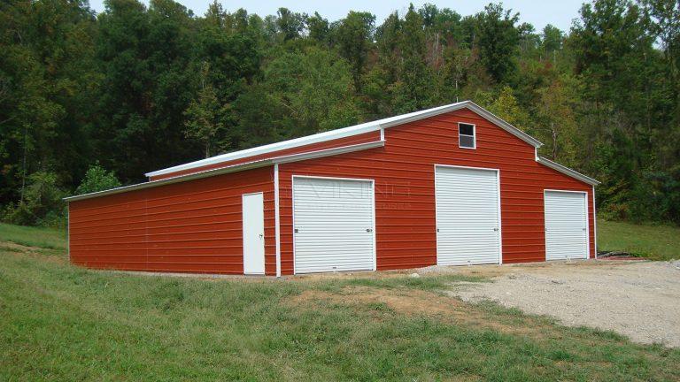 24x36x12 Ridgeline Vertical Barn
