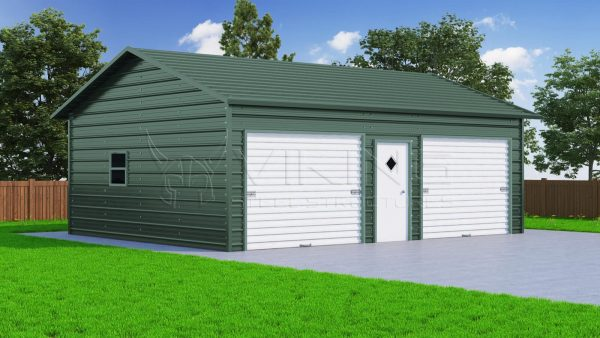 24 x 31 Side Entry Garage