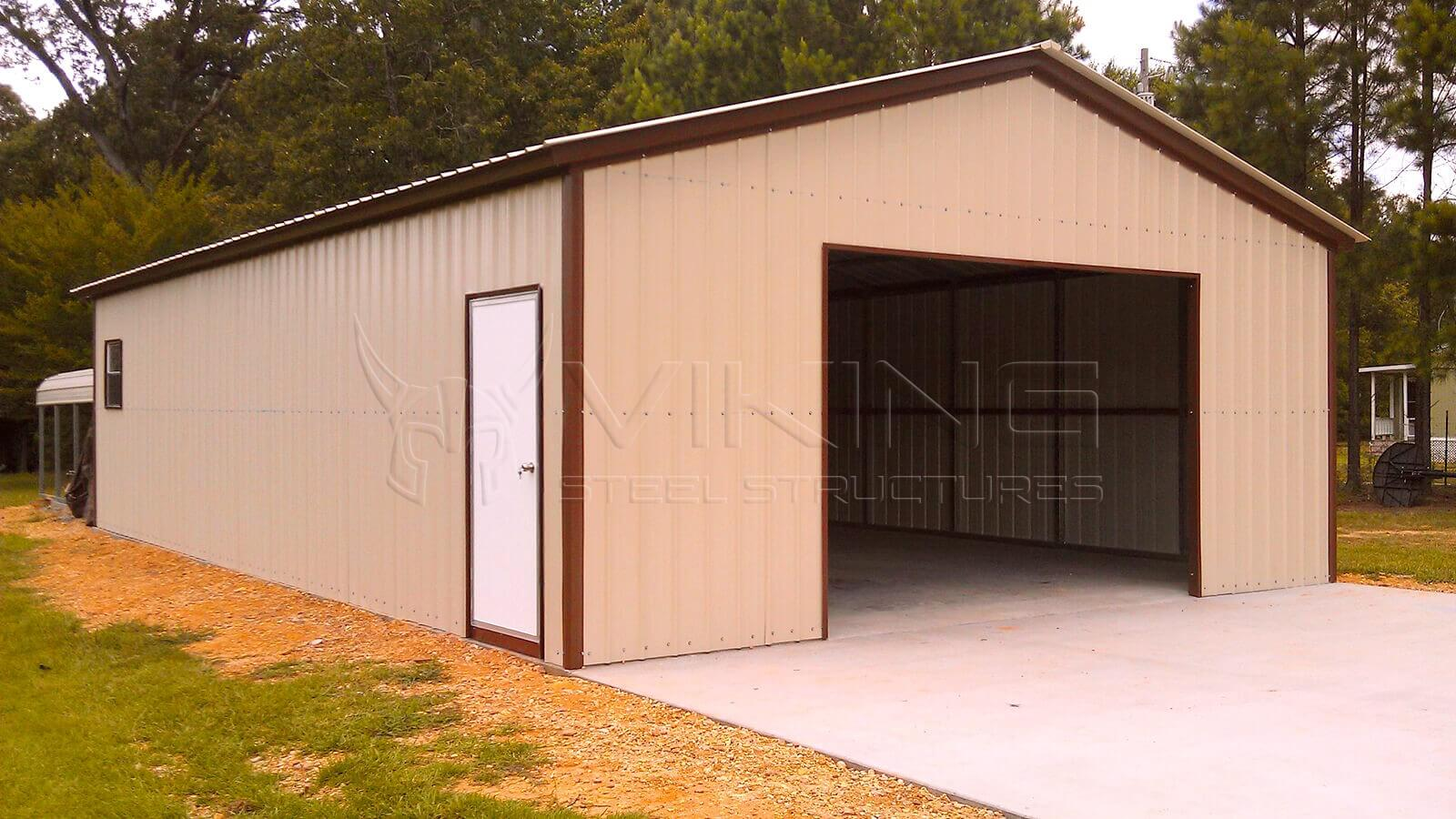 24x40x9 All Vertical Garage Workshop