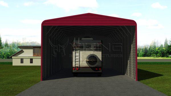 24x51 Steel RV Carport