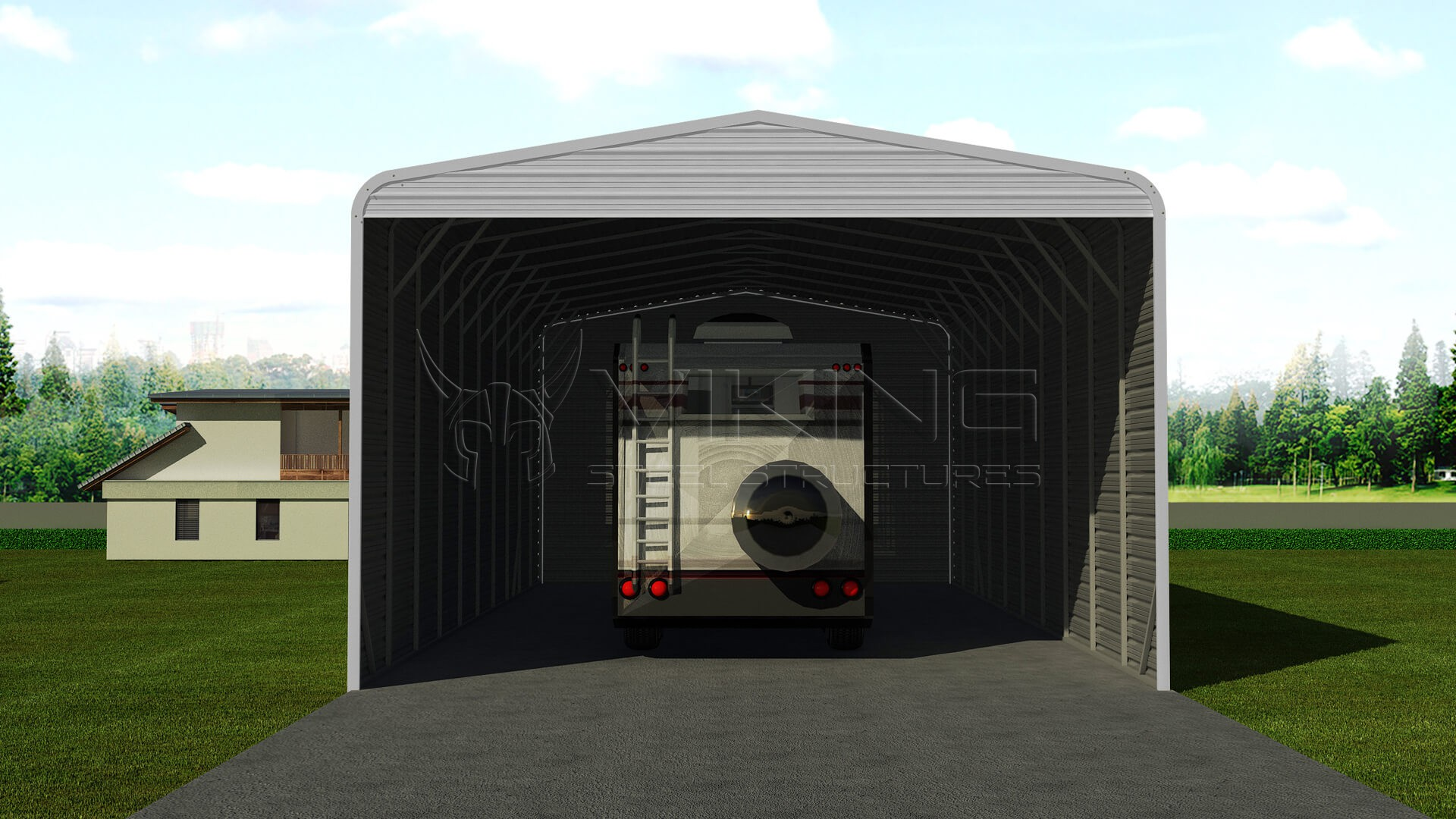 24x51 Steel RV Carport ( Write A Review )