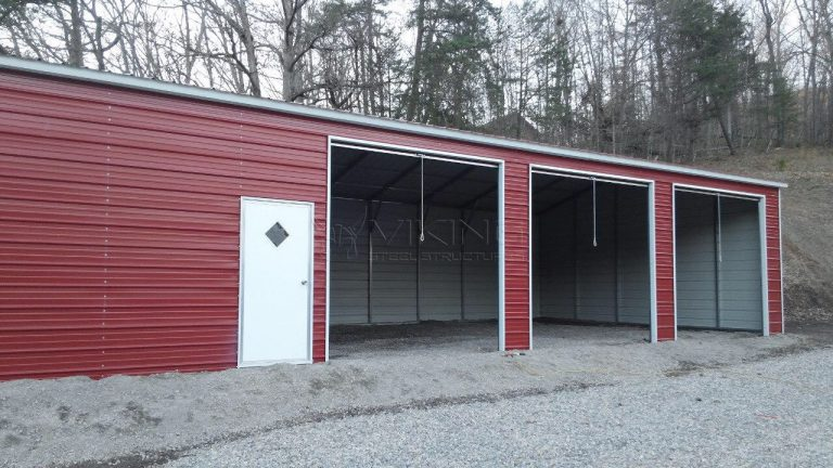 24x51x13 Fully Enclosed Vertical Building