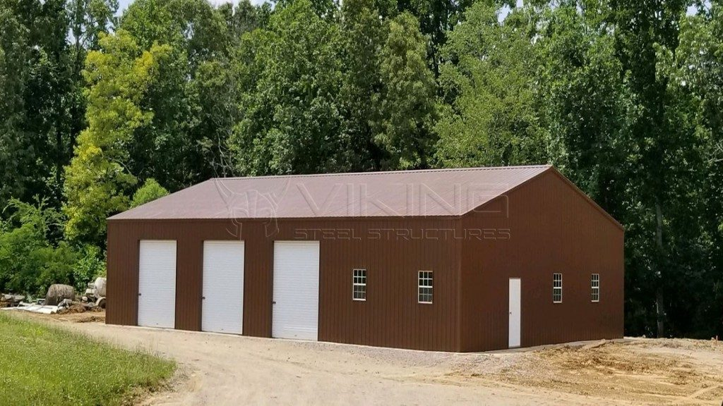 46x72x14 All Vertical Enclosed Commercial Building