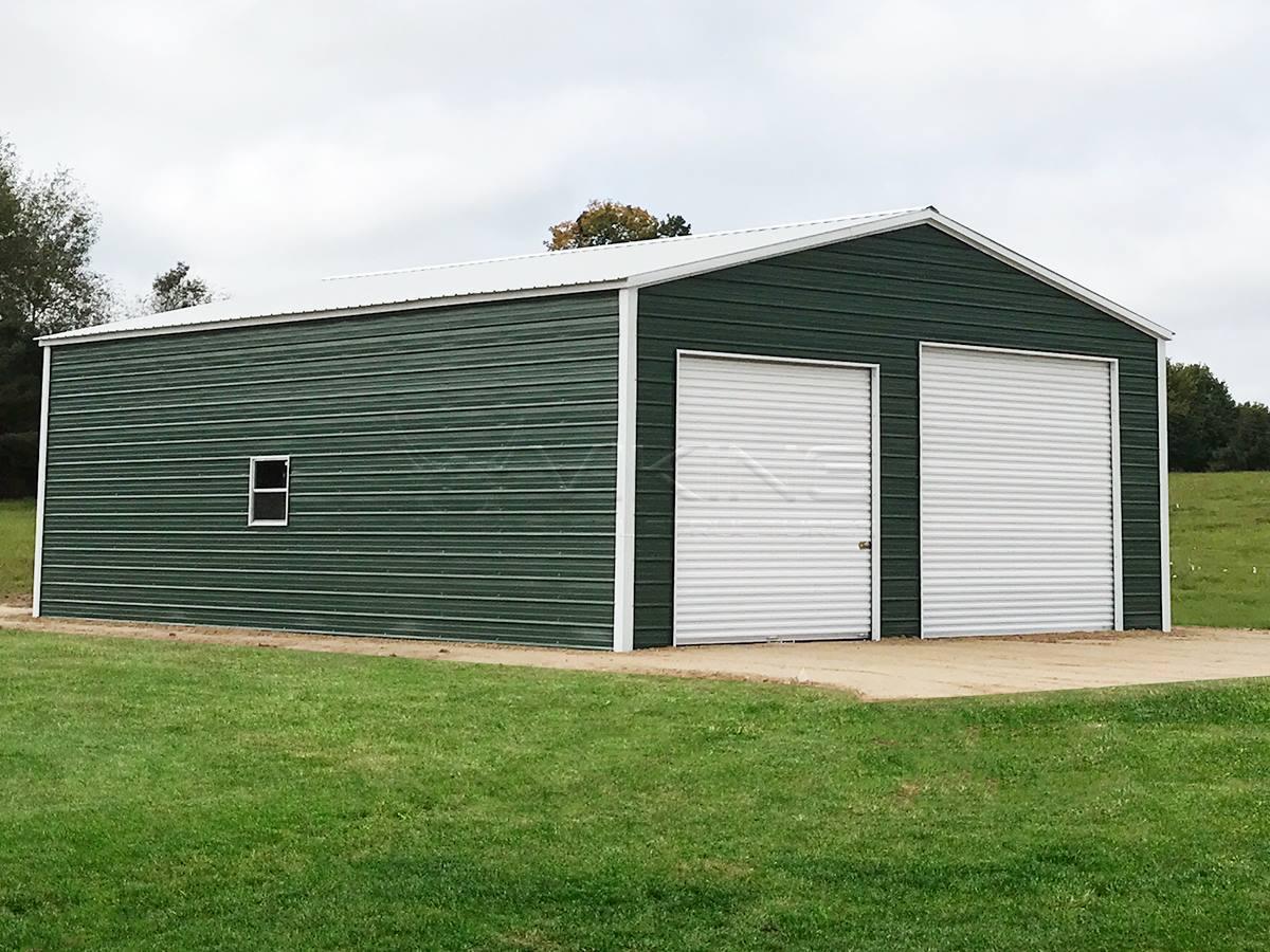 30x40x12-enclosed-garage-workshop-front