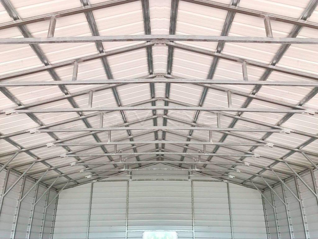 30x40x12-enclosed-garage-workshop-inside