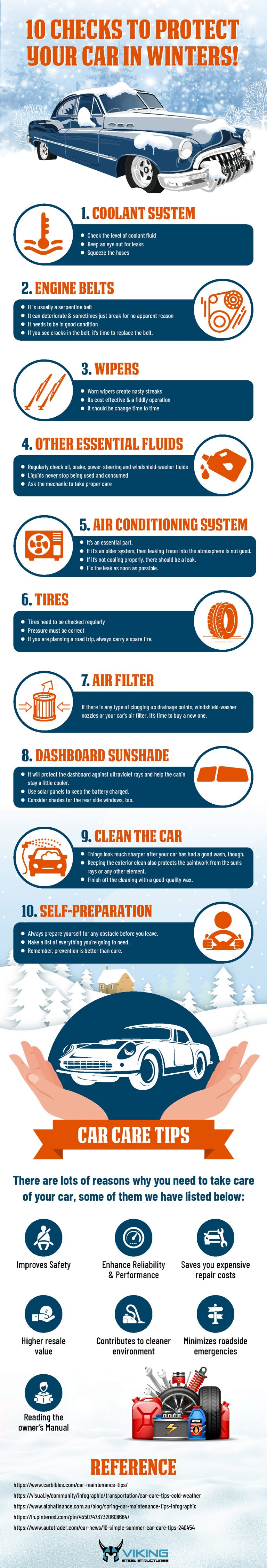 10 Checks to protect your car in Winter!