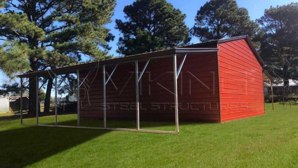54x30x11 Metal Carolina Barn