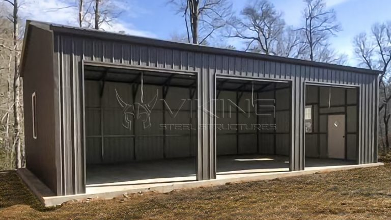 24x40x12 THREE CAR VERTICAL GARAGE