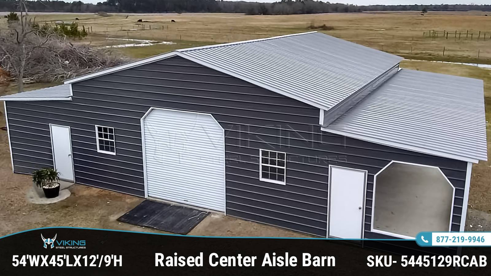 54x45x12-Raised-Center-Aisle-Barn