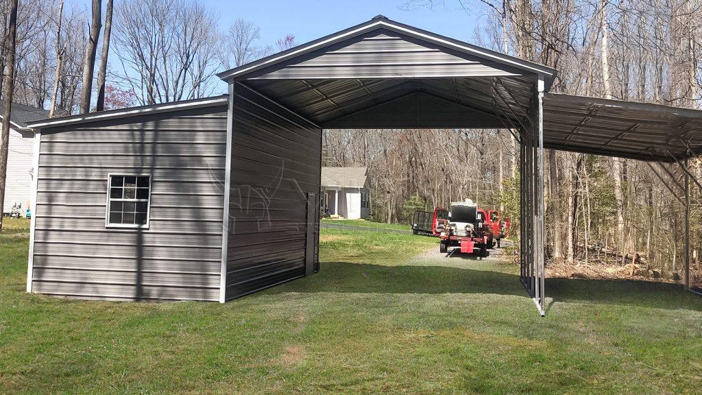42x25x13 Carolina Metal Barn