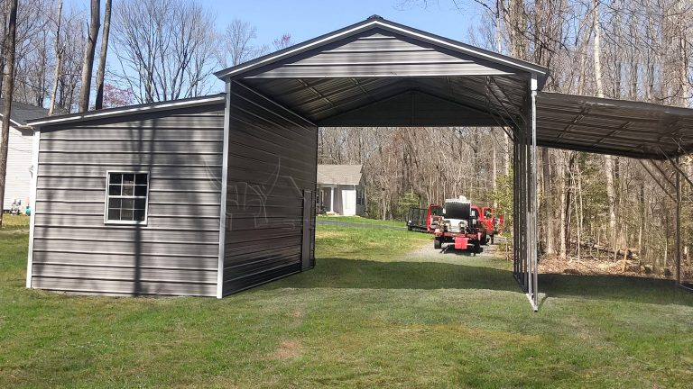 42x25x13 Carolina Metal Barn
