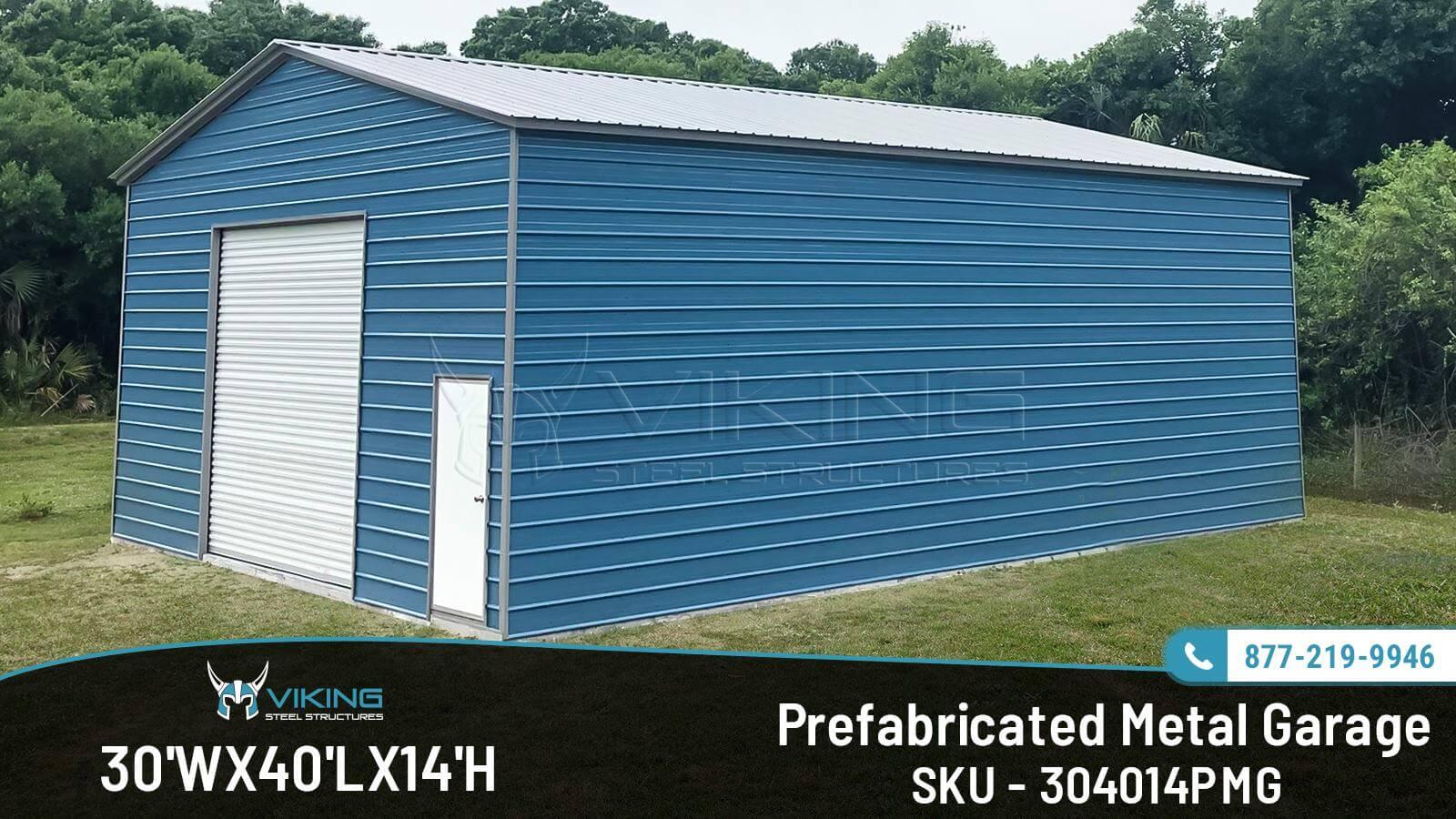 prefabricated metal garage