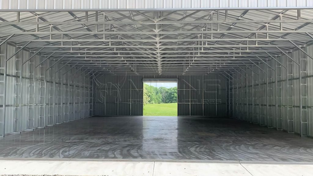 40x60x12 Clear Span Metal Building