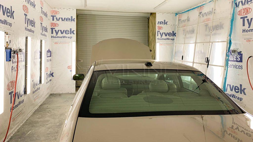 36x40x14 Two Car Metal Garage