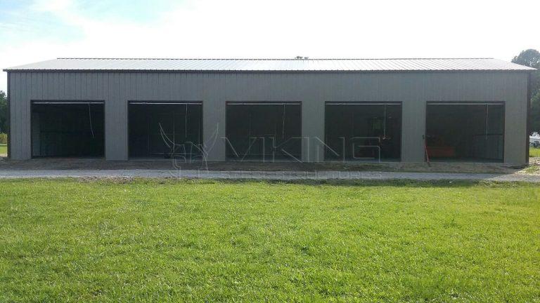 30x70 All Vertical Side Entry Garage