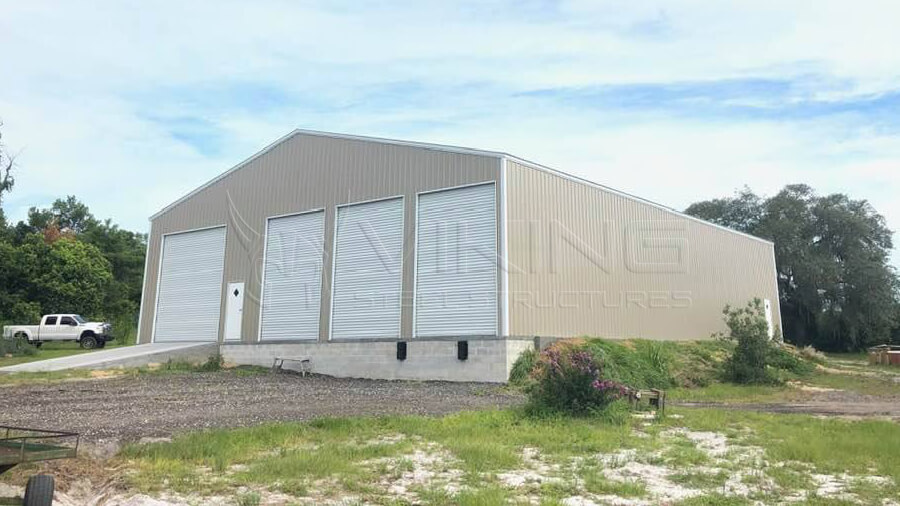 60X80X16 All Vertical Commercial Building
