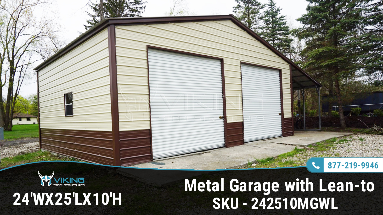 24x25x10-metal-garage-with-lean-to