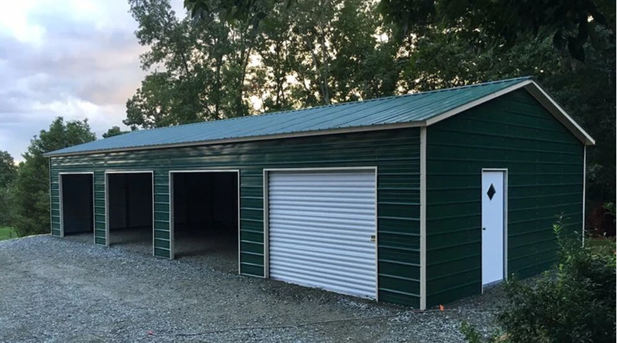 EB Carports Metal Garage