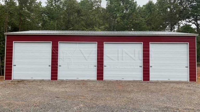 30x50x12 Vertical Roof Style Garage